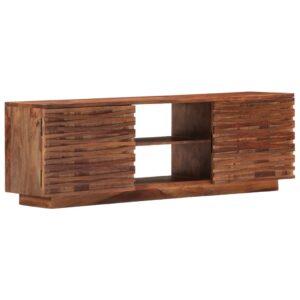 Móvel de TV 120x30x40 cm madeira de sheesham maciça - PORTES GRÁTIS