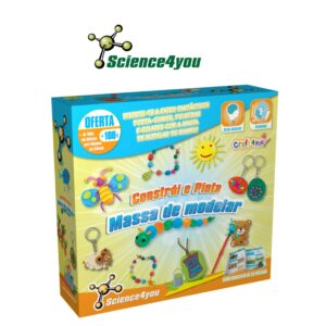 Constrói e Pinta - Massa de modelar - Science4you