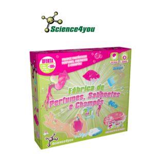 Fábrica de Perfumes, Sabonetes e Champôs 3 em 1 - Science4you