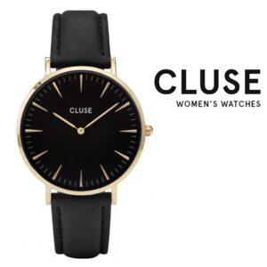 Relógio Cluse® La Bohème Gold Black | 38 mm