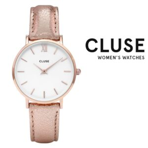 Relógio Cluse® La Bohème Minuit Leather | 33 mm