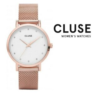 Relógio Cluse® Pavane Metal Alloy Rose Gold | 38 mm