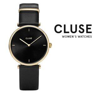 Relógio Cluse® Triomphe Black Gold | 33 mm