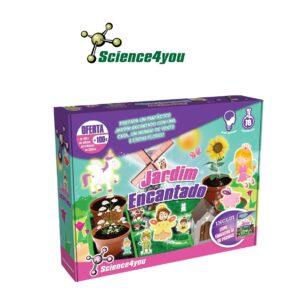 Jardim Encantado - Cria um Jardim com Flores Verdadeiras - Science4you