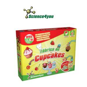Fábrica de Cupcakes - Divertidas Receitas Para Cozinhares - Science4you
