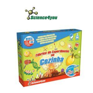 Fábrica de Experiências na Cozinha - Transforma-te Num Verdadeiro Cientista - Science4you