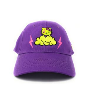 Hello Kitty Boné Infantil Purple