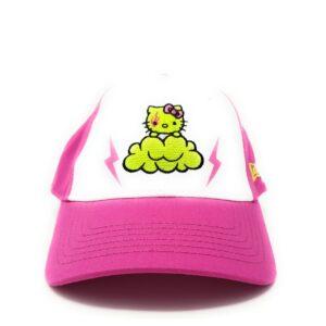 Hello Kitty Boné Infantil White | Pink