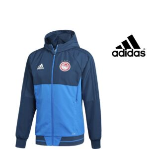 Adidas® Casaco Olympiakos Oficial | Tecnologia Climalite® Tamanho XXL