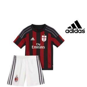 Adidas® Home Kit Oficial AC Milan para Criança