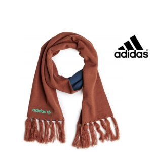 Adidas® Cachecol Logo Scarf Brown and Blue