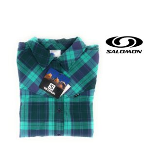 Salomon® Camisa Cascade Green