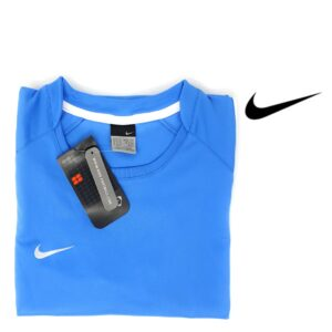 Nike® T-Shirt de Treino Womens Light Blue