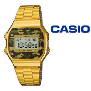 Relógio Casio® A168WEGC-3EF
