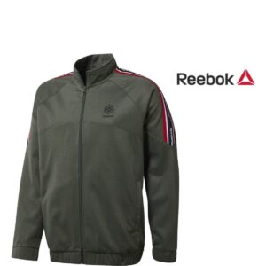 Reebok® Casaco Franchise Verde - Tamanho L