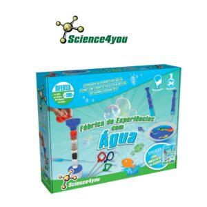Fábrica de Experiências - Explora o Universo da Ciência Utilizando a Água - Science4you
