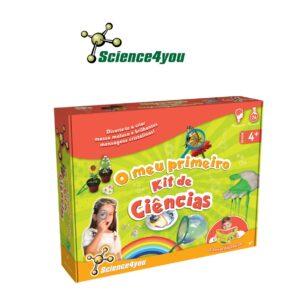 O Meu Primeiro Kit de Ciências - 26 Experiências Educativas - Science4you