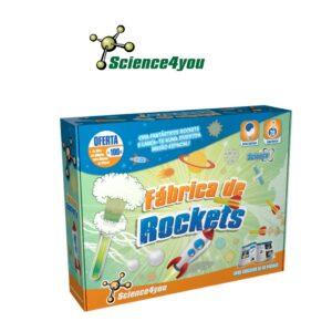 Fábrica de Rockets - Descobre o Lado Mais Explosivo da Ciência - Science4you