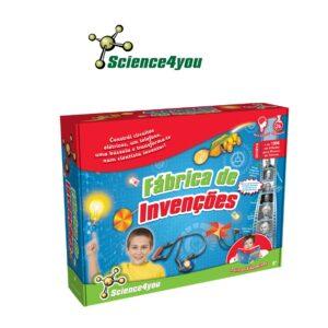 Fábrica de Invenções - Aprende Como te Podes Transformar num Inventor - Science4you