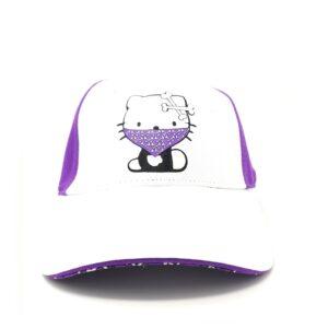 Hello Kitty Boné Infantil Purple | White
