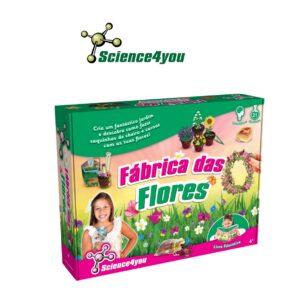 Fábrica das Flores - Aprende a Construir um Lindo Jardim - Science4you