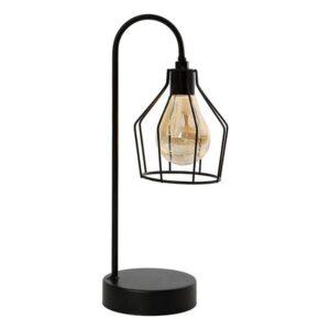 Lâmpada LED de Mesa Preto