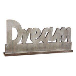 Letreiro de Madeira Dream