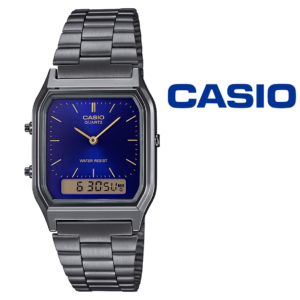Relógio Casio®Retro Digital AQ-230EGG-2AEF Vintage EDGY