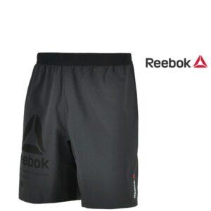 Reebok® Calções Woven Black | Tecnologia Speedwick