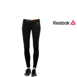 Reebok® Leggings Work Poly Black | Tecnologia PlayDry