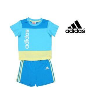 Adidas® Conjunto Infantil Aqua Blue