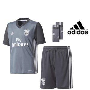 Adidas® Equipamento Benfica Oficial Alternativo Junior | Tecnologia Climacool®