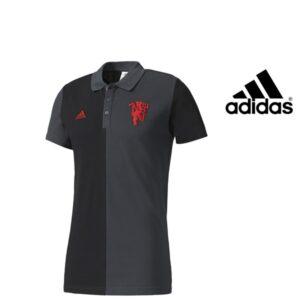 Adidas® Polo Oficial Manchester United 3Stripes | Tecnologia Climalite