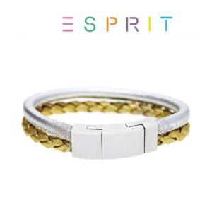 Esprit® Pulseira Silver & Gold