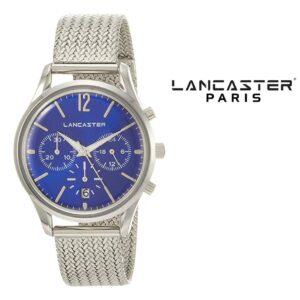 Relógio Lancaster Paris® Heritage Cronógrafo 38mm | MLP004B/SS/BL