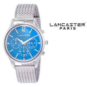 Relógio Lancaster Paris® Heritage Cronógrafo 38mm | MLP004B/SS/CL