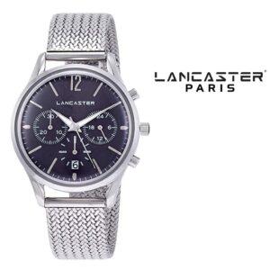 Relógio Lancaster Paris® Heritage Cronógrafo 38mm | MLP004B/SS/GR