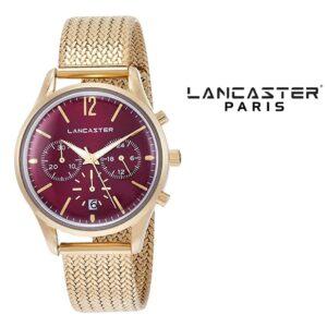 Relógio Lancaster Paris® Heritage Cronógrafo 38mm | MLP004B/YG/BD