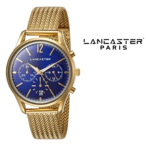 Relógio Lancaster Paris® Heritage Cronógrafo 38mm | MLP004B/YG/BL