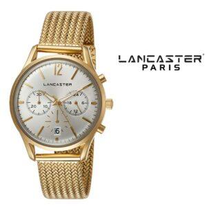 Relógio Lancaster Paris® Heritage Cronógrafo 38mm | MLP004B/YG/BN