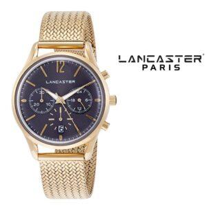 Relógio Lancaster Paris® Heritage Cronógrafo 38mm | MLP004B/YG/GR