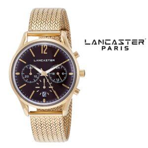 Relógio Lancaster Paris® Heritage Cronógrafo 38mm | MLP004B/YG/MR