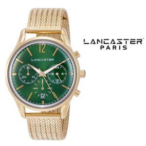 Relógio Lancaster Paris® Heritage Cronógrafo 38mm | MLP004B/YG/VR