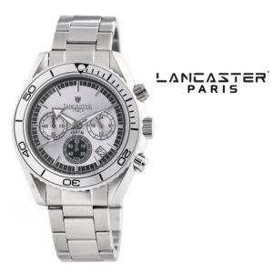 Relógio Lancaster Paris® Cronógrafo 45mm | OLA0500SL/BK