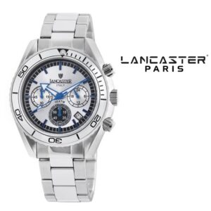 Relógio Lancaster Paris® Cronógrafo 45mm | OLA0500SL/BL