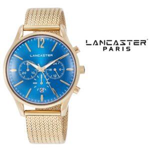 Relógio Lancaster Paris® Heritage Cronógrafo 42mm | MLP003B/YG/CL