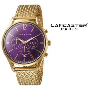 Relógio Lancaster Paris® Heritage Cronógrafo 42mm | MLP003B/YG/VL