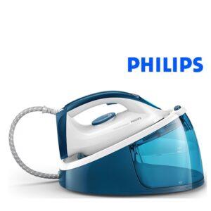 Ferro com Caldeira Philips 1,3 L 2400W Azul e Branco