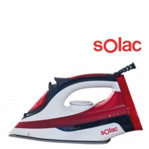 Ferro de Vapor Solac PV2214 Optima Perfect 2600W | 380 ml Preto Vermelho
