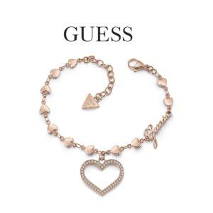 Guess® Pulseira UBB28002-L | Rosa Gold
